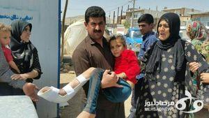 عکس/ مصدومان زلزله در بیمارستان کرمانشاه