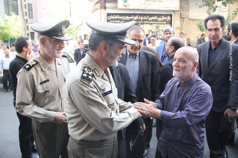 امیر موسوی فرمانده کل ارتش