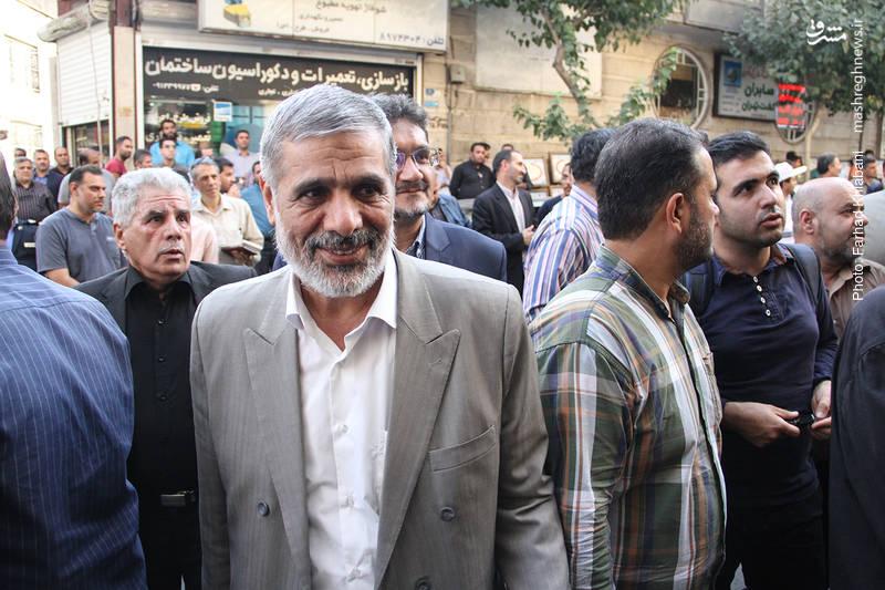 حسین فدایی رئیس بازرسی دفتر رهبر انقلاب