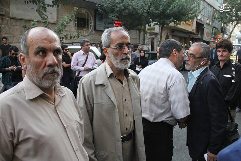 سردار حسین نجات جانشین رئیس سازمان اطلاعات سپاه