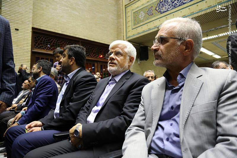 محمدرضا عارف رئیس فراکسیون امید مجلس شورای اسلامی