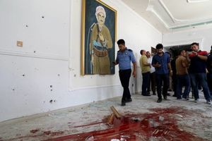 عکس/ حمله داعش به استانداری اربیل