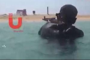 فیلم/ رونمایی از قدرت دریایی یمنی ها