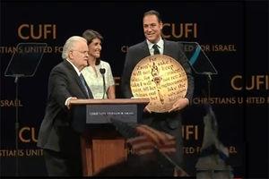 فیلم/جایزه خوش رقصی برای اسرائیل به نیکی هیلی رسید!