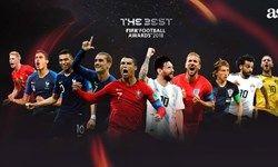 اسامی ۱۰ نامزد نهایی بهترین بازیکن سال فیفا