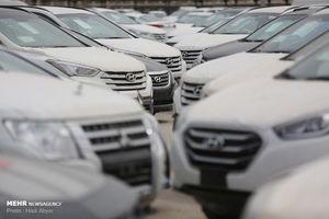 خودروهای وارداتی در گمرک منطقه آزاد اروند
