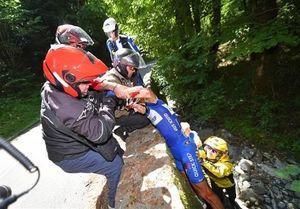 حادثه وحشتناک و خونین برای رکابزن بلژیکی در توردوفرانس+عکس