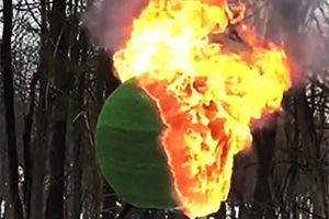 فیلم/ لحظه آتش زدن همزمان 42000عدد کبریت!