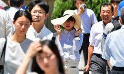 گرما در ژاپن طی یک هفته ۶۵ قربانی گرفت