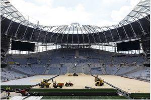 آخرین وضعیت استادیوم جدید تاتنهام +عکس