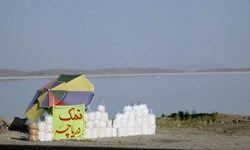 درآمدزایی ستاد احیای دریاچه ارومیه از دریاچه خشک