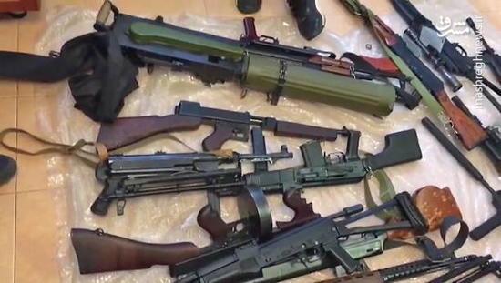 فیلم/انهدام بزرگترین باند قاچاق سلاحهای جنگی در شمال کشور