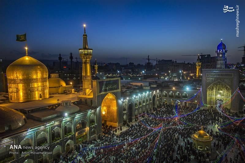 عکس حرم امام رضا مشهد