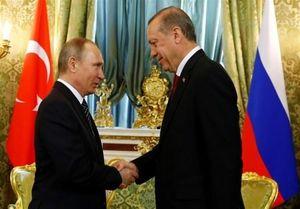 رایزنی پوتین و اردوغان درباره بحران سوریه