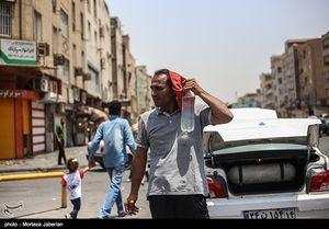 عکس/ روزگار به شدت آفتابی مردم خوزستان