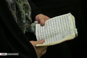 عکس/ نخستین دعای کمیل زائران ایرانی در مدینه