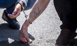 دستگیری سارقان خشن موتورسوار +عکس