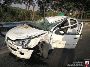 عکس/ تصادف مرگبار در اتوبان بابابی