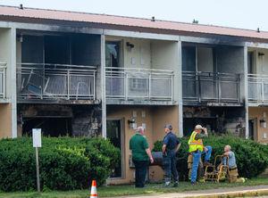 عکس/ آتشسوزی مرگبار در میشیگان