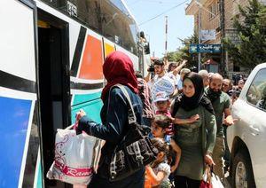 عکس/ بازگشت آوارگان سوری از لبنان