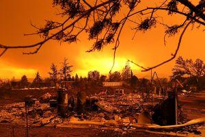 جدیدترین تصاویر از آتش سوزی مهیب کالیفرنیا