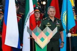 عکس/ افتتاحیه مسابقات ارتشهای جهان در روسیه