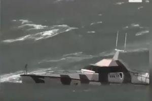 فیلم/ ساخت قایقی که واژگون نمی شود!