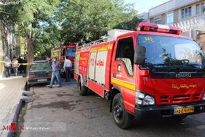 آتشسوزی گسترده انبار مواد شیمیایی در شهرری