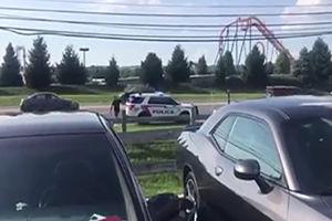 فیلم/ شلیک مرگبار پلیس به یک مرد!