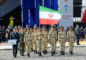 عکس/ حضور ایران در مسابقات نظامی روسیه