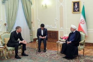 توییت سفیر جدید انگلیس بعداز دیدار با روحانی +عکس