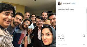 «رضا شفیعیجم» در پشت صحنه فیلم «آپاچی» +عکس