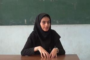 فیلم/ روایت جالب خانم معلم اهل افغانستان