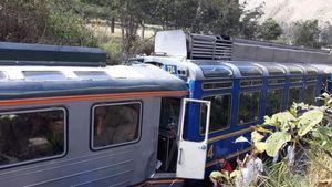 دهها زخمی در سانحه برخورد دو قطار در پرو