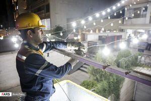عکس/ جمعآوری لامپهای اضافه در استان فارس