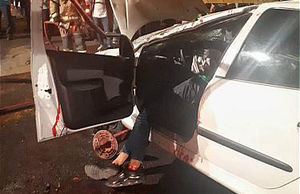 عکس/ مرگ دلخراش راننده جوان در تهران