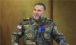فرمانده نیرو زمینی ارتش: تهدید پاسخ تهدید