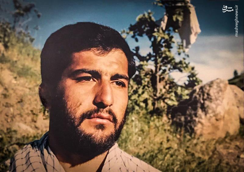 شهید حاج شاهرخ دایی پور در دوران جنگ تحمیلی