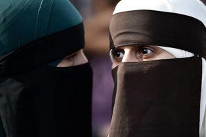 واکنش زنان به ممنوعیت برقع در دانمارک