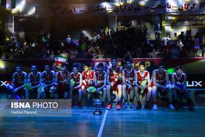 عکس/ فینال مسابقات بسکتبال نوجوانان غرب آسیا