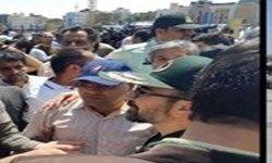 اعتراض به مشکلات اقتصادی در مشهد/ فرمانده سپاه امام رضا(ع) در جمع معترضان حاضر شد