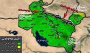شکار بزرگ نیروهای گردان صلح در مرکز استان صلاح الدین عراق