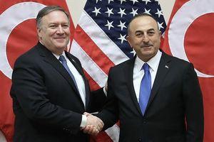 توافق وزیران خارجه ترکیه و آمریکا بعد از اعمال تحریمها