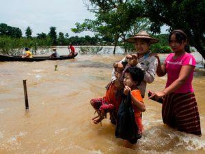 عکس/ سیل مرگبار در میانمار