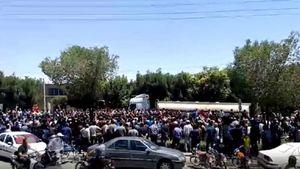 گزارش اعتراضات صنفی مردم در برخی استانها