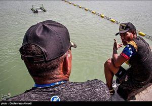 عکس/ مسابقات نظامی بین المللی غواصی در نوشهر