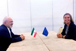 ظریف با موگرینی در سنگاپور دیدار کرد