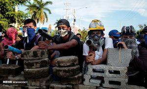 عکس/ تظاهرات خونین در نیکاراگوئه