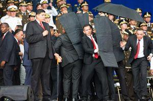 عکس/ ترور ناموفق رئیس جمهور ونزوئلا