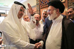 عکس/ بازدید نماینده ولی فقیه از مراکز پشتیبانی حجاج